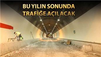 Ovit Tüneli'nde sona yaklaşıldı