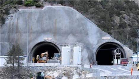 Yeni Zigana Tüneli'nde 7 bin 700 metreye ulaşıldı