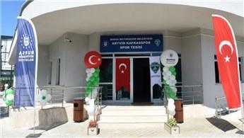Bursa'da Artvin Kafkasspor Spor Tesisleri hizmete açıldı