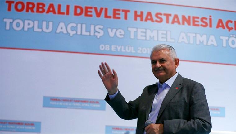 Başbakan Yıldırım, Torbalı Devlet Hastanesi'ni açtı!