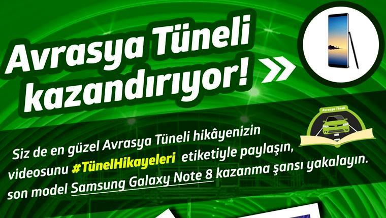 """Avrasya Tüneli """"tünel hikayeleri"""" ile kazandırıyor"""