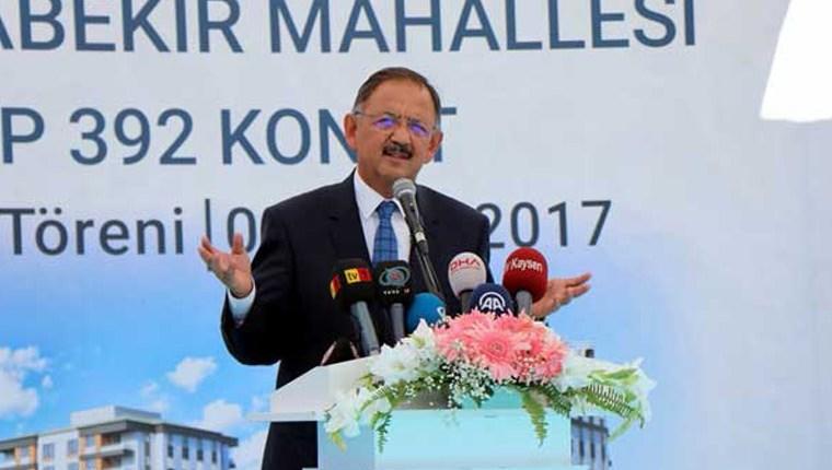Özhaseki: Türkiye, 15 yılda depreme hazır hale gelecek