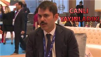 Murat Kurum: Fuarda 50 projemiz ile yer alıyoruz