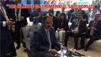 Bakan Özhaseki, Cityscape Global'de konuştu!