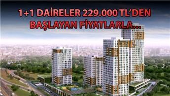Self İstanbul'da 1+1 dairelerin başlangıç fiyatı ne kadar?