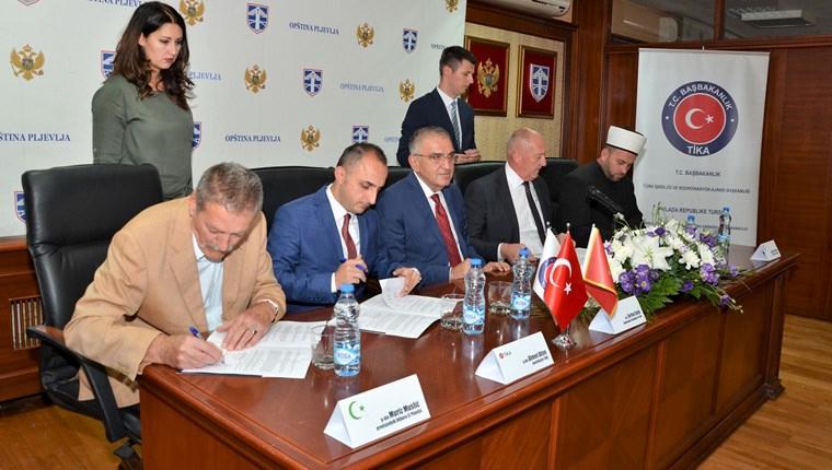 TİKA, Karadağ'daki Hüseyin Paşa Camisi'ni restore edecek