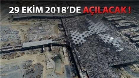 İstanbul 3. Havalimanı yolcu köprüleri!