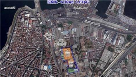 İzmir Konak 1. Etap arsasının yer teslimi yapıldı