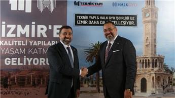 Teknik Yapı ve Halk GYO, İzmir projesinde buluştu
