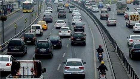 İstanbul'da trafik yoğunluğu yüzde 49 seviyelerinde