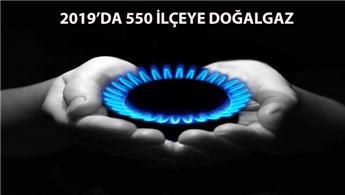 2018 yılında doğalgazsız şehir kalmayacak
