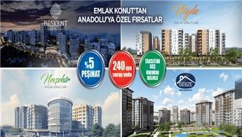 Emlak Konut'un Anadolu projelerinde dev kampanya!