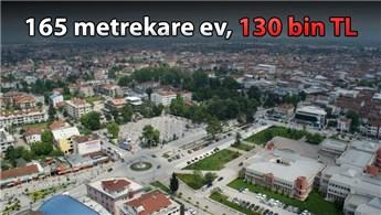 3 bin 900 lira peşinatla belediyeden satılık konutlar!