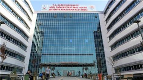 Çorum'da Erol Olçok Eğitim ve Araştırma Hastanesi açılıyor