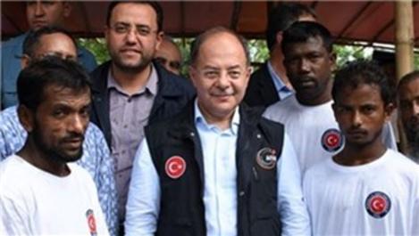Türkiye Arakanlılar için 100 bin kişilik barınak yapacak