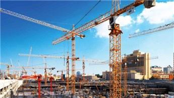 İnşaat sektörü, yılın ilk yarısında yüzde 6,4 büyüdü