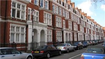 Londra'da konut fiyatları yüzde 0,6 geriledi