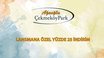 Ağaoğlu Çekmeköy Park'ta yüzde 10 peşinatla!