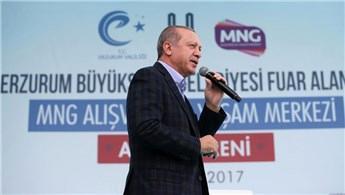 Erdoğan, MNG Alışveriş ve Yaşam Merkezi'nin açılışını yaptı