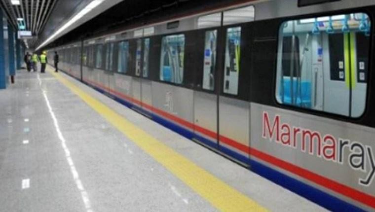 Marmaray'da seferler aralıklı yapılıyor