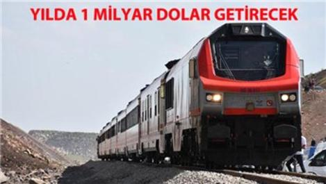 Bakü-Tiflis-Kars Demiryolu seferlere başlıyor