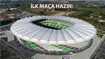 Yeni Sakarya Atatürk Stadı'nın yapımı tamamlandı