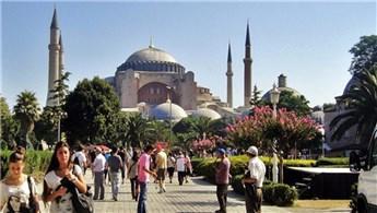İstanbul'a gelen turist sayısı arttı!