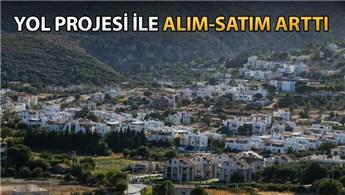Karaburun'da emlak piyasası altın çağını yaşıyor