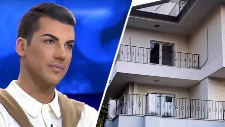 Kerimcan Durmaz, 4 katlı eve aylık 25 bin lira ödeyecek
