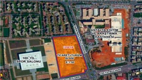 Antalya Muratpaşa arsasının sözleşmesi imzalandı