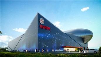 Türkiye'nin ilk uzay temalı merkezi yükseliyor