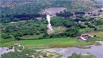 Efes Antik Kanal projesi için düğmeye basıldı
