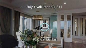 Büyükyalı İstanbul'un örnek daireleri şimdi 3D!