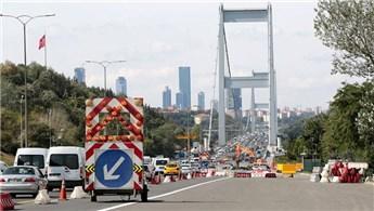 FSM Köprüsü, saat 18.00 itibarıyla trafiğe açılacak