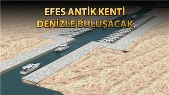 Efes Antik Kenti Kanal Projesi'nin ilk etabına 53 teklif!