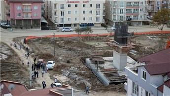 Bursa'da hızlı tren inşaatında iş kazası!