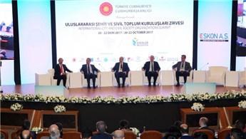 Uluslararası Şehir ve Sivil Toplum Kuruluşları Zirvesi, başladı