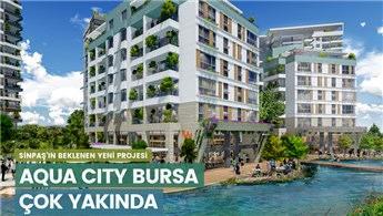 Aqua City Bursa'da 177 bin TL'den başlayan fiyatlarla!