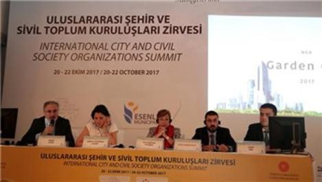 Uluslararası Şehir ve Sivil Toplum Kuruluşları Zirvesi sona erdi
