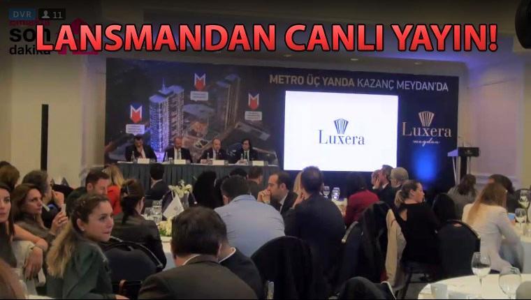 Luxera Meydan ve Luxera Yenibosna basına tanıtılıyor
