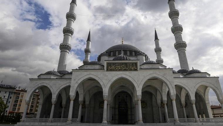 Ulus İtfaiye Meydanı Camisi cuma günü açılacak