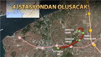 Altunizade-Çamlıca metrosu için ÇED süreci başladı