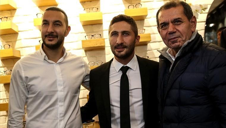 Sabri Sarıoğlu, İstanbul'da optik mağazası açtı