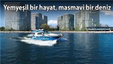 İstanbul'un eşsiz projesi Sea Pearl'de yaşam başladı!
