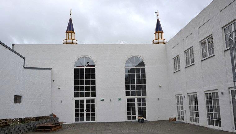 Danimarka'daki 5 kubbeli Türk camisinde sona yaklaşıldı
