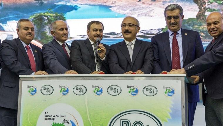 Karaman'da 120 milyon liralık 8 tesisin temelini atıldı