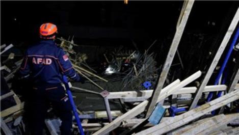 Ankara'da inşaatta göçük: 5 yaralı