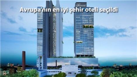 Fairmont Quasar İstanbul, 'en iyi otel' ödülünü aldı