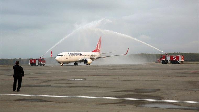 Samsun Çarşamba Havalimanı yeniden uçuşa açıldı!