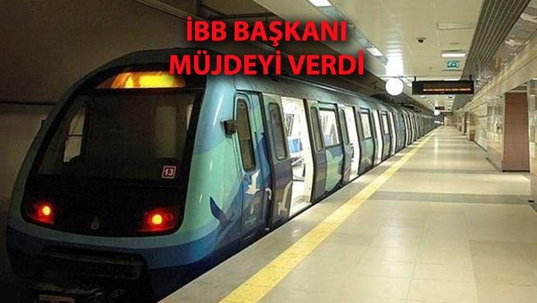 Üsküdar-Çekmeköy metrosu bir ay içinde açılıyor!